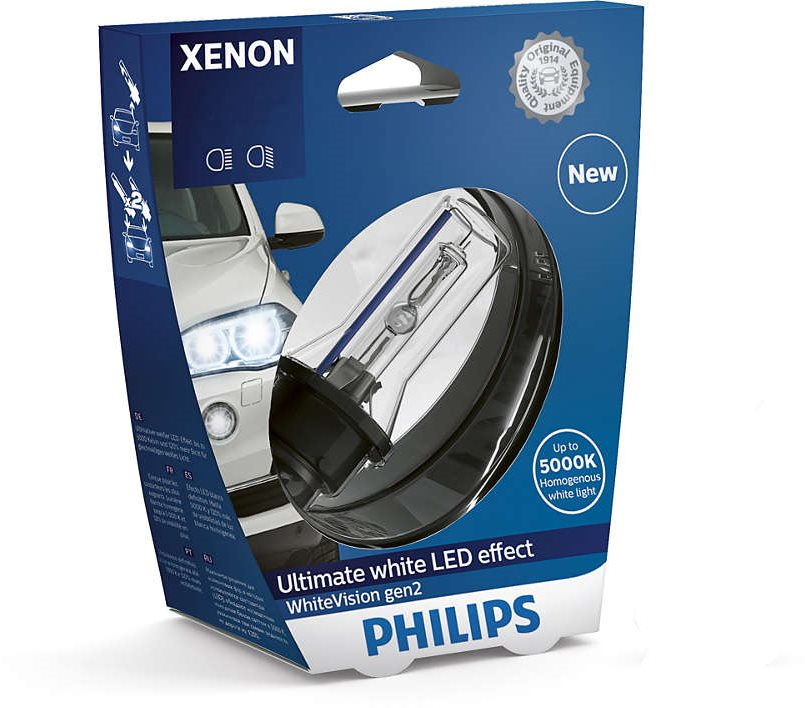 PHILIPS Xenon WhiteVision D2R 1 db
