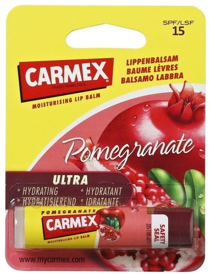 CARMEX Pomegranate SPF15 Moisturising Lip Balm 4,25 g