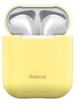 Baseus Super Thin Yellow Silica Gel Case az AirPods 1/2 gen részére