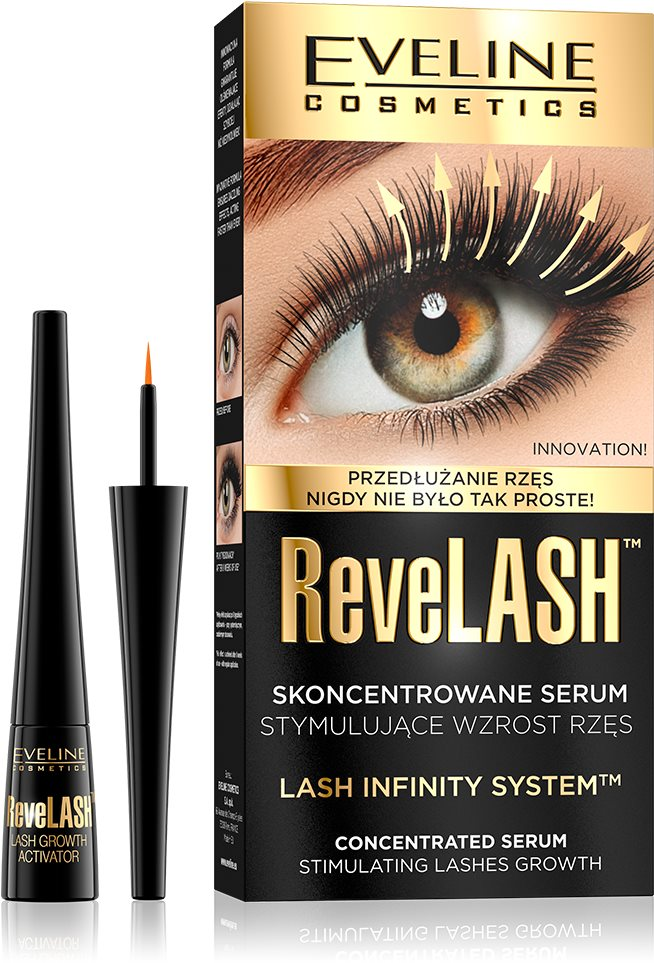 EVELINE COSMETICS ReveLASH Serum Stimulating Lashes Growth 3 ml