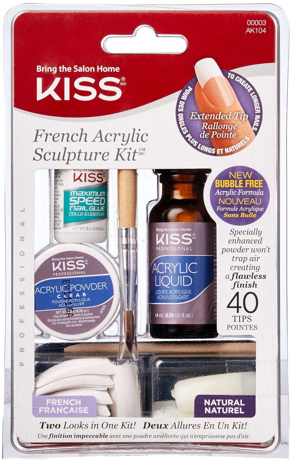 KISS francia akrilkészlet (dupla befecskendezés)