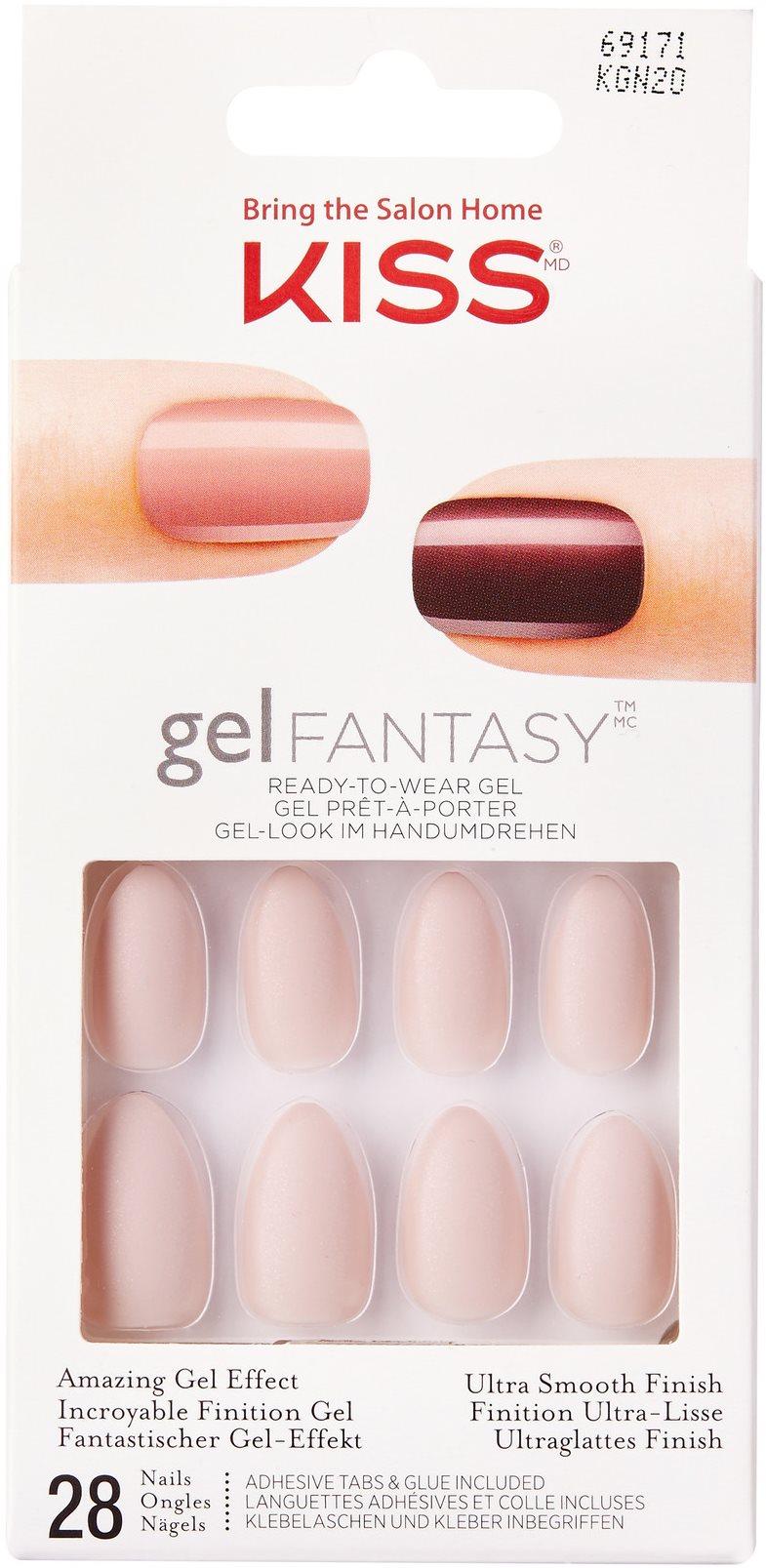 KISS Gel Fantasy Nails - Wait 'n See