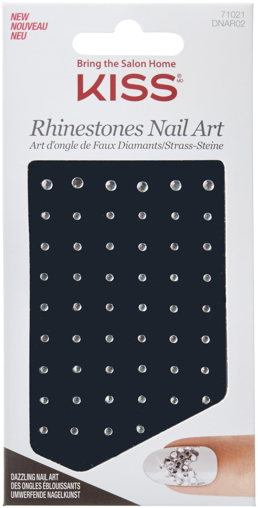 KISS Rhinestones Nail Art - Crystal Ball