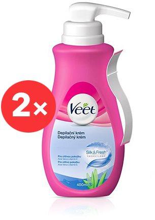 VEET Sensitive Skin Cream 2 × 400 ml