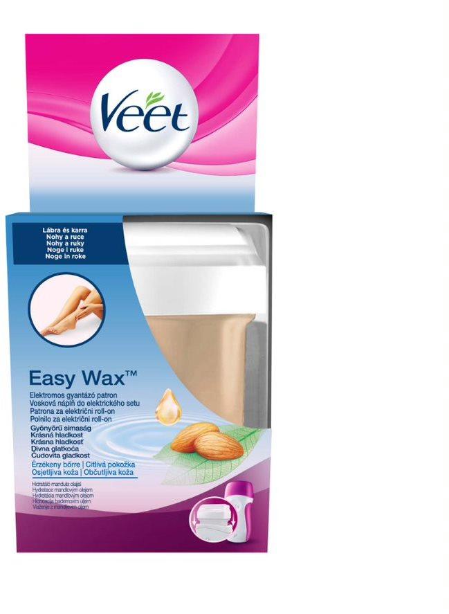 Veet EasyWax Natural Inspirations utántöltő lábra, érzékeny bőrre 50 ml