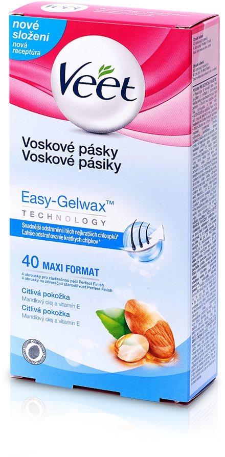 VEET gyantacsíkok érzékeny bőrre (40 db)