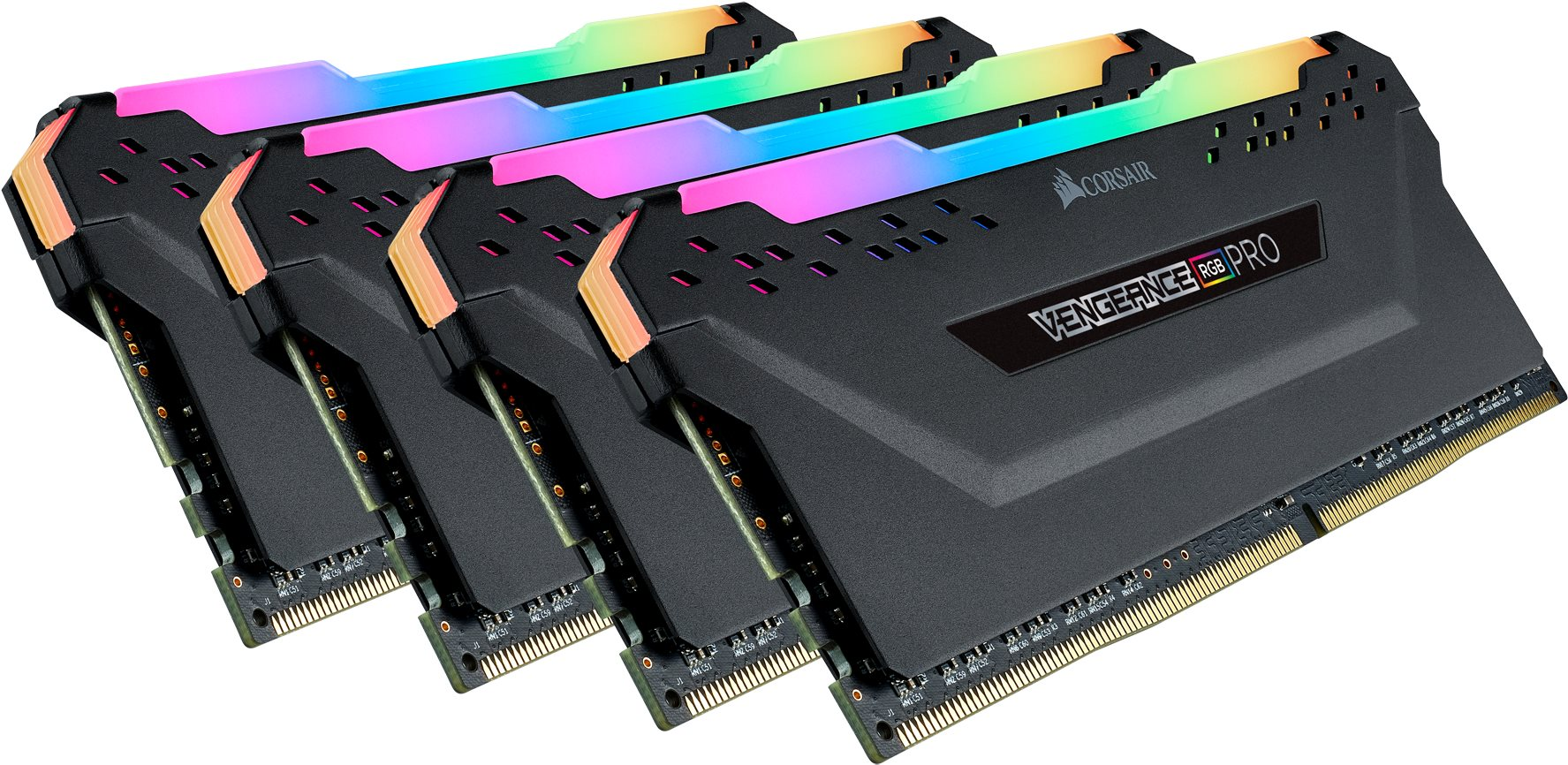 Corsair 64GB KIT DDR4 3200MHz CL16 Vengeance RGB PRO - fekete