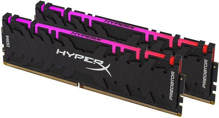 HyperX 16GB Kit DDR4 3000MHz CL15 XMP RGB Predator