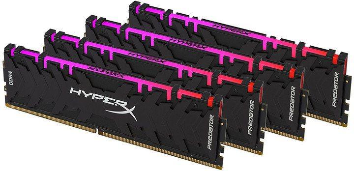 HyperX 64GB Kit DDR4 3000MHz CL15 XMP RGB Predator