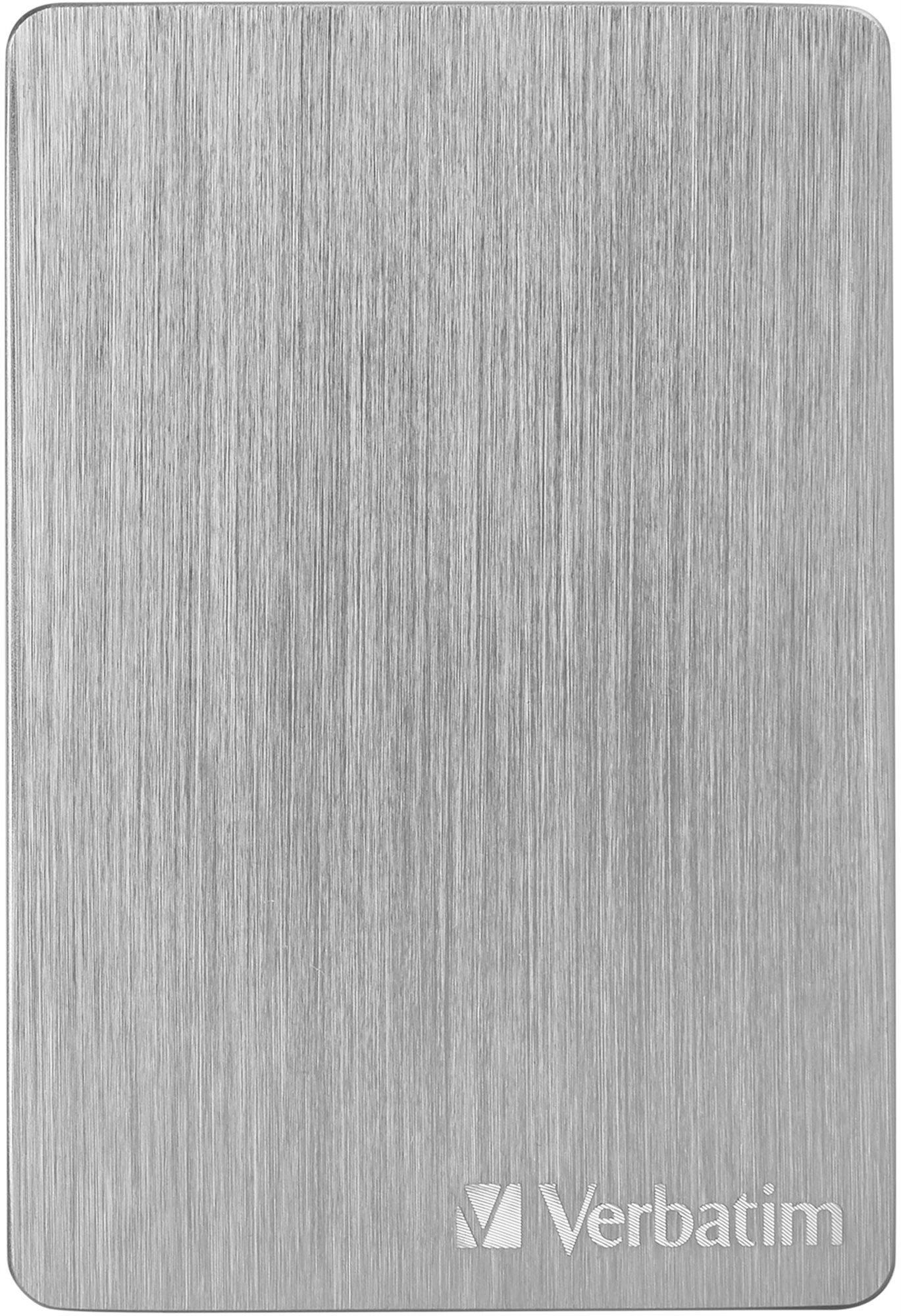 VERBATIM Store´n´ Go ALU Slim 1TB, ezüst