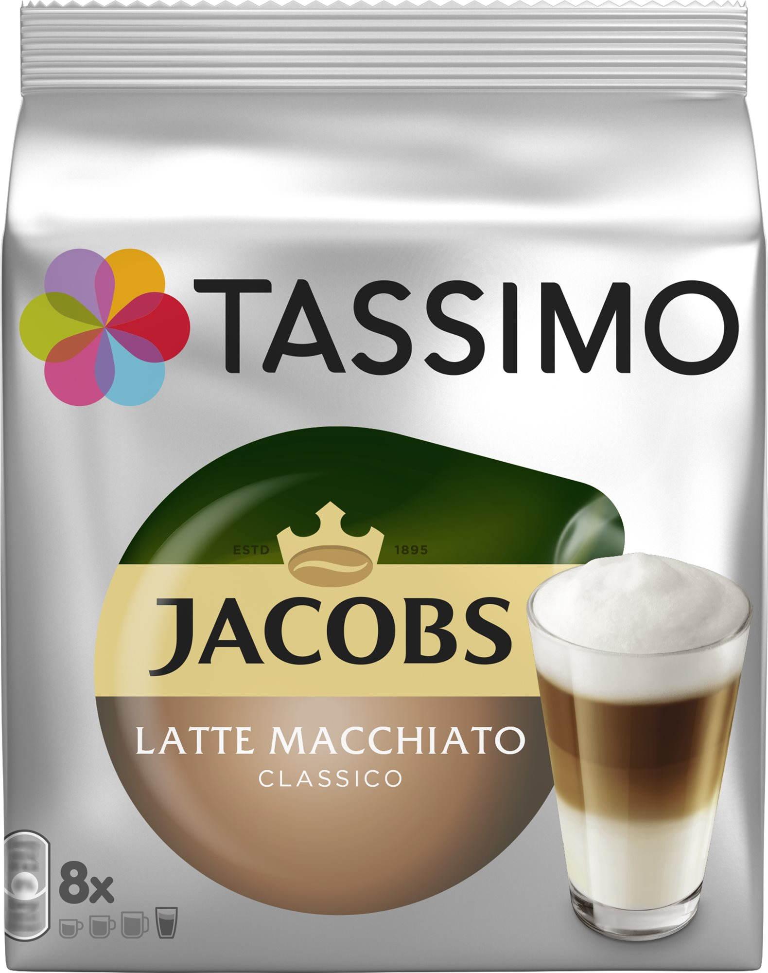 TASSIMO Jacobs Krönung Latte Macchiato 8 adag