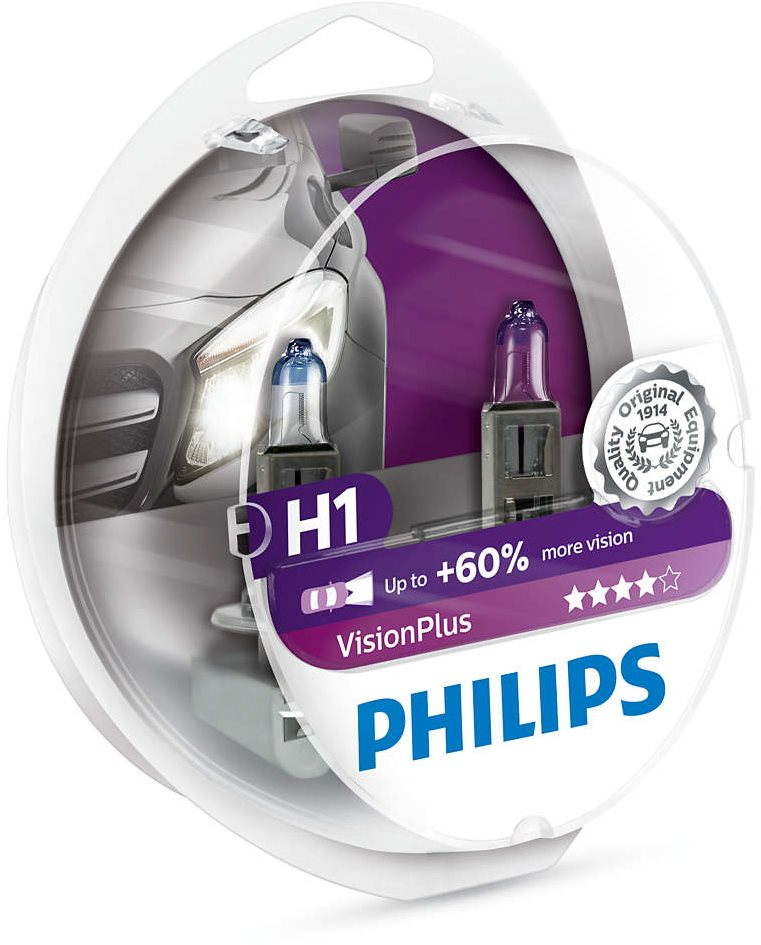 PHILIPS H1 VisionPlus 2db