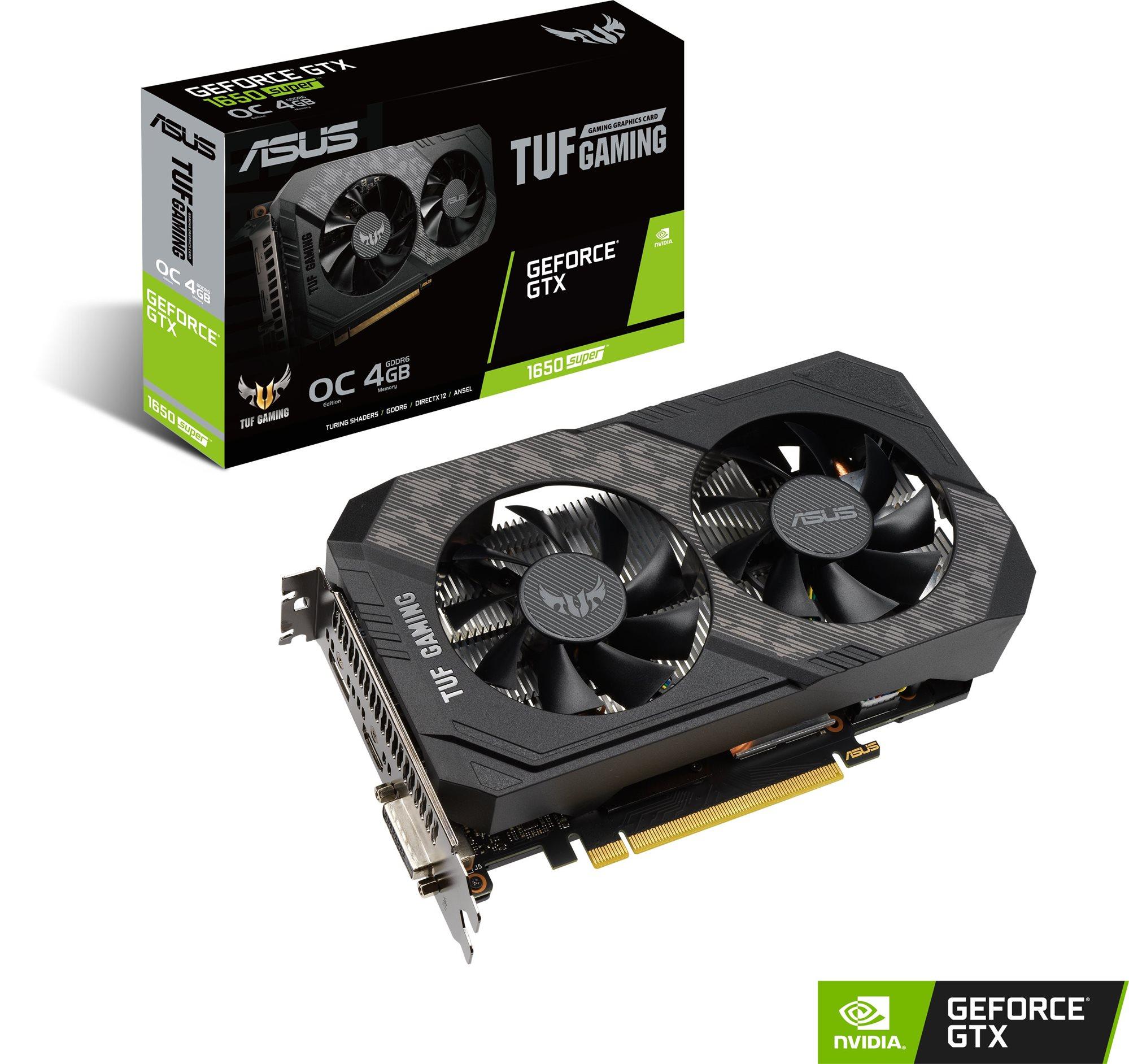 ASUS TUF GeForce GTX1650 SUPER O4G GAMING