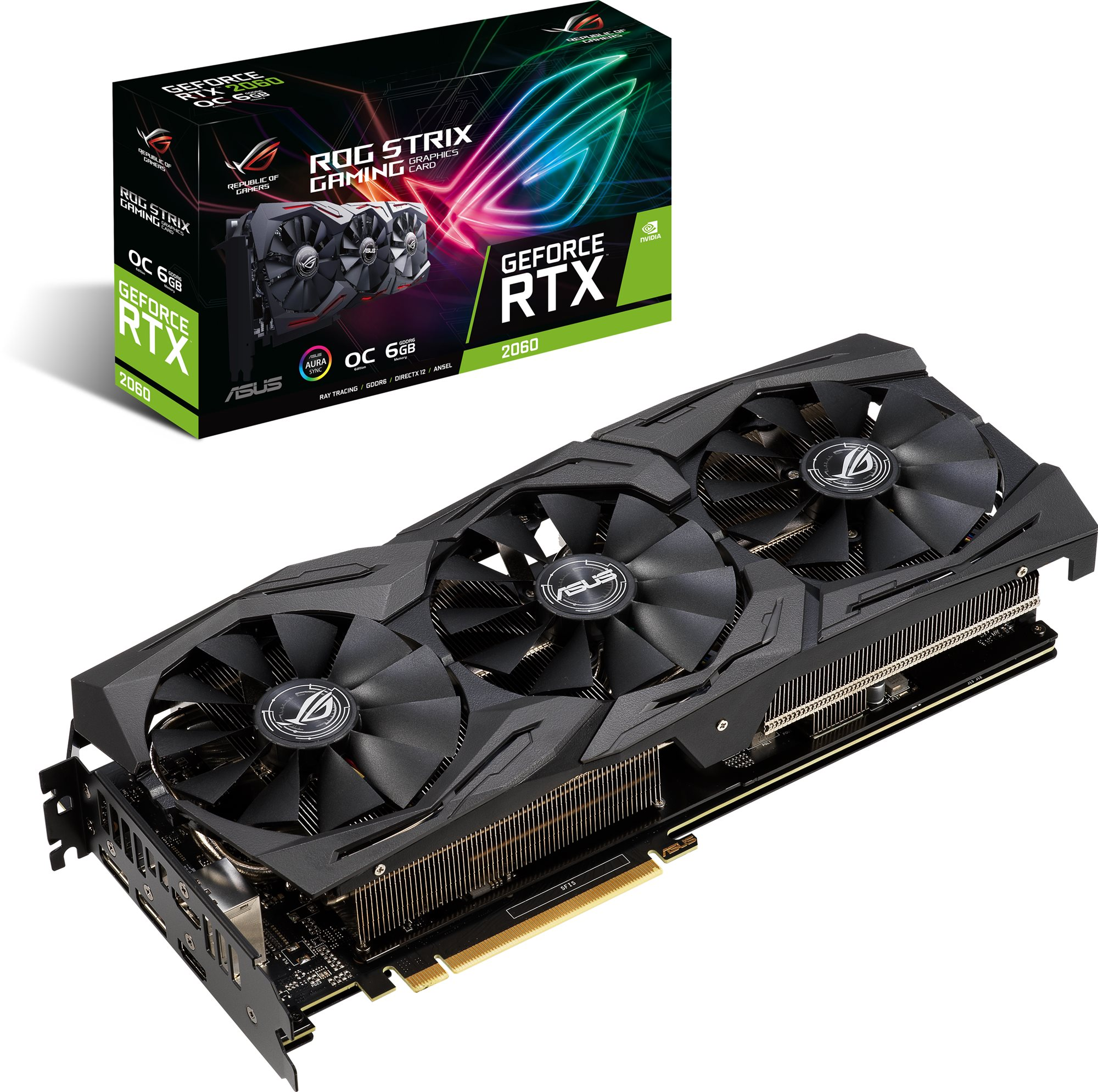 ASUS ROG STRIX GAMING GeForce RTX2060 O6G