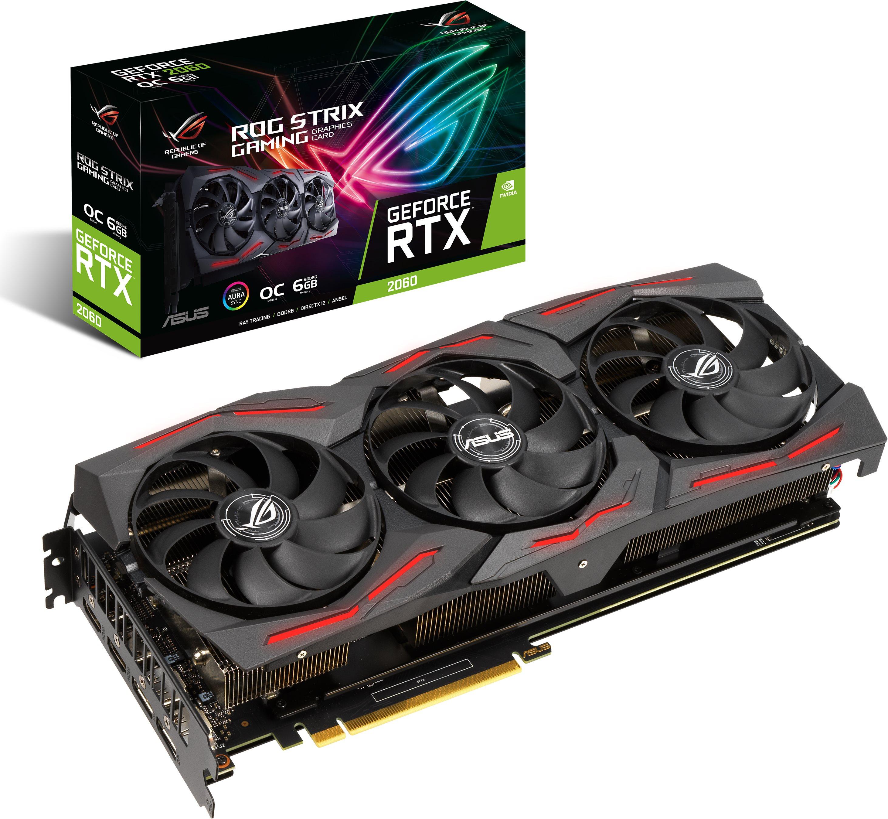 ASUS ROG STRIX GeForce RTX 2060 O6G EVO GAMING
