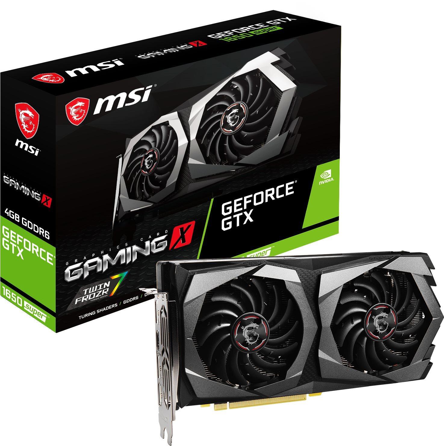 MSI GeForce GTX 1650 SUPER GAMING X 4G