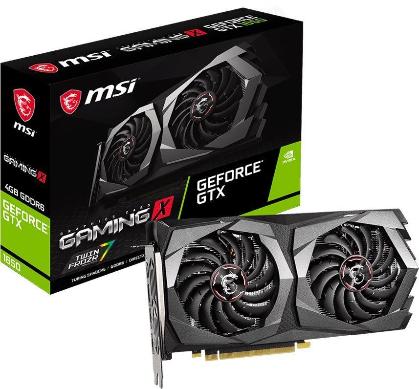 MSI GeForce GTX 1650 D6 GAMING X