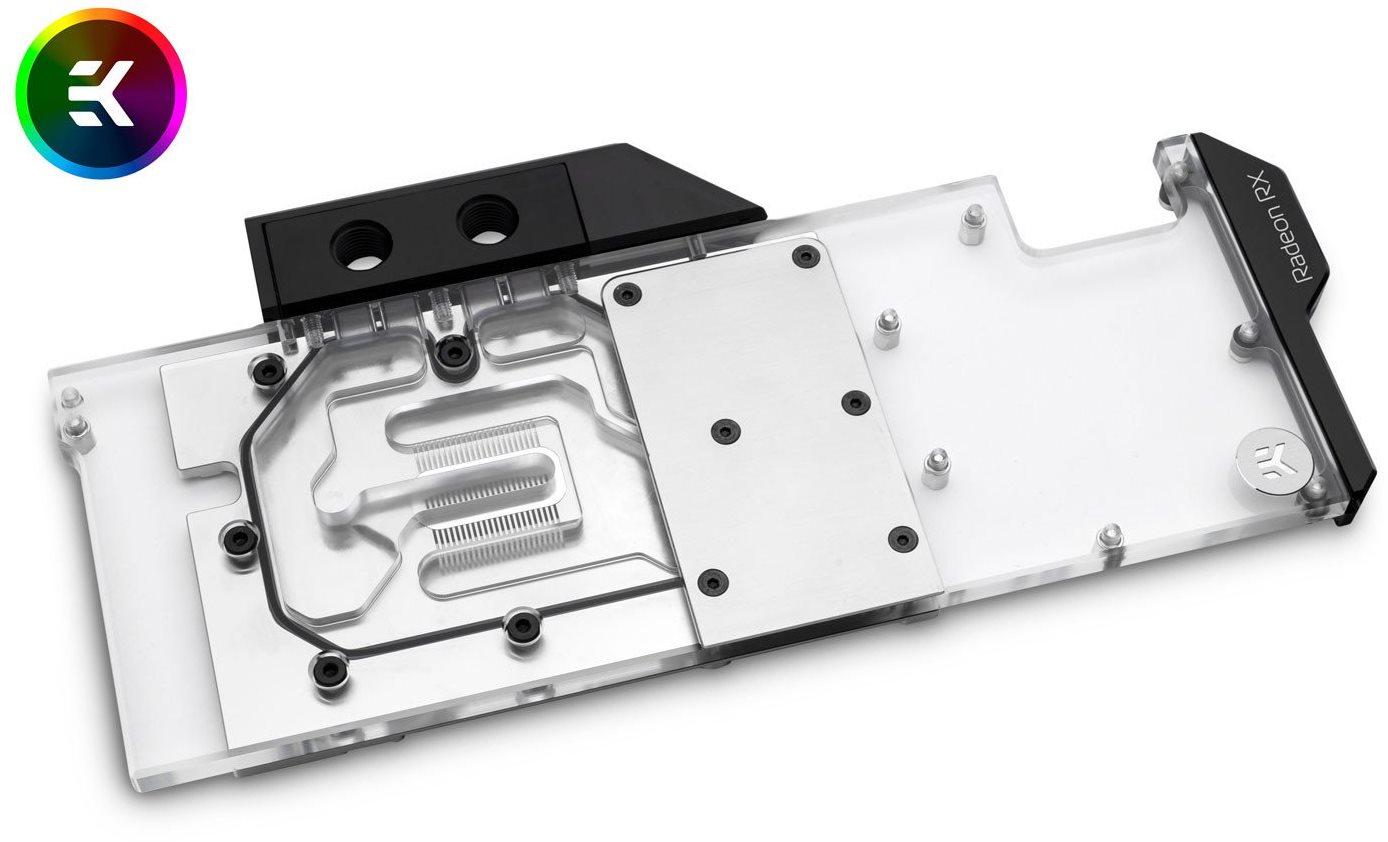 EK Water Blocks EK-Vector Radeon RX 5700/XT RGB - nikkel plexi