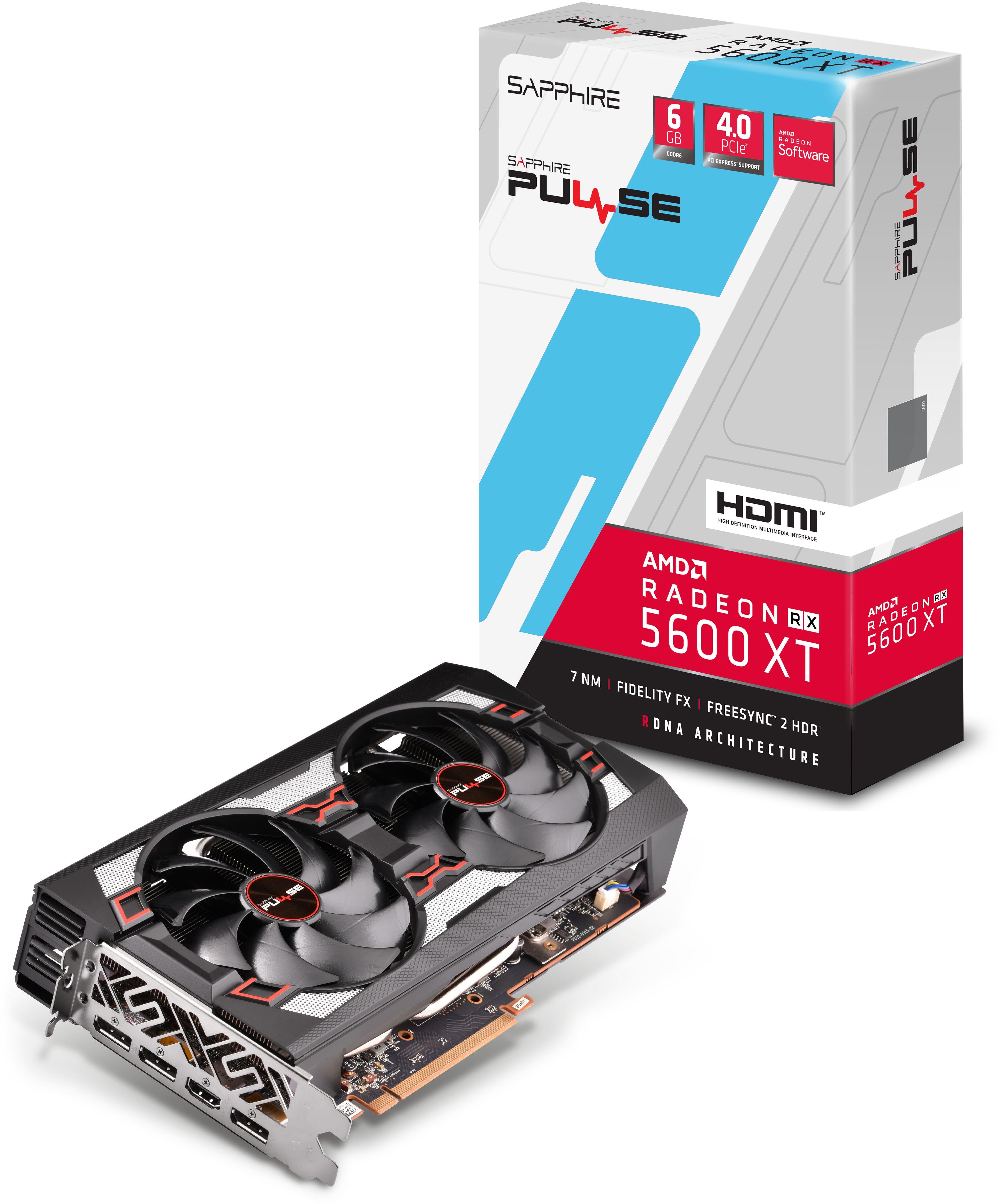 SAPPHIRE PULSE Radeon RX 5600 XT 6G
