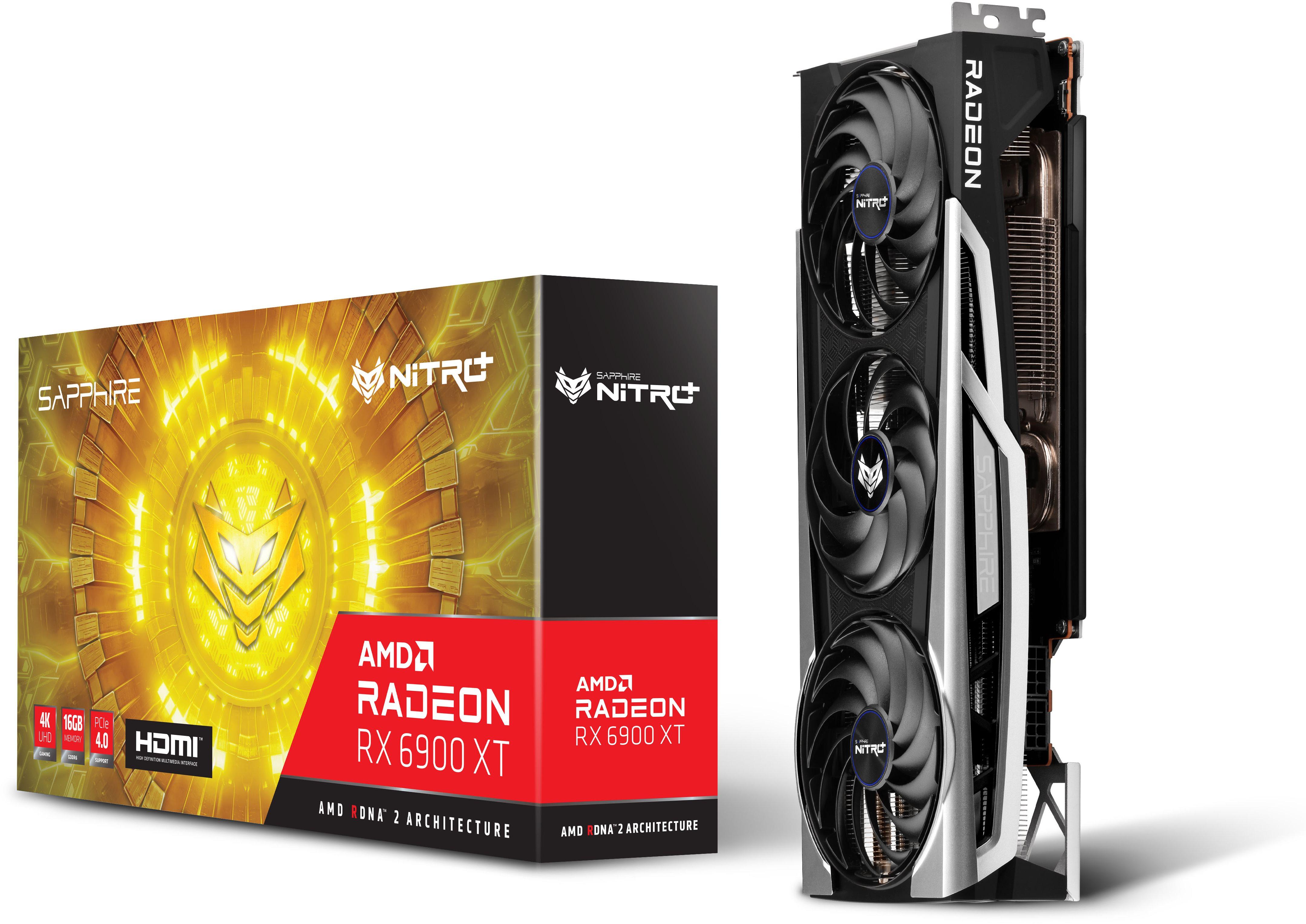 SAPPHIRE NITRO + Radeon RX 6900 XT 16G