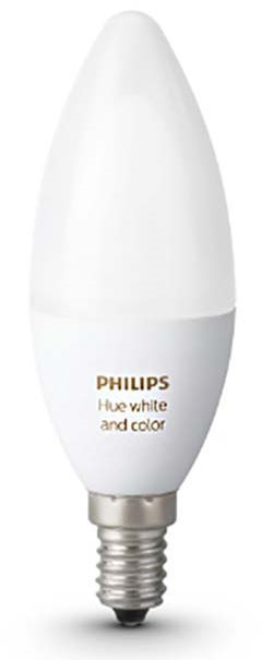 Philips Hue White and Color Ambiance, 6 W, E14