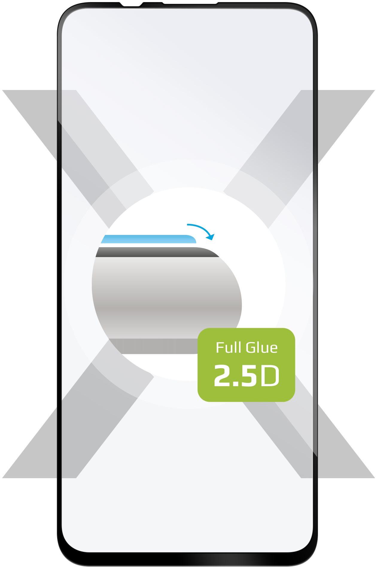 FIXED FullGlue-Cover Honor 20 Pro/Honor 20 készülékhez, fekete