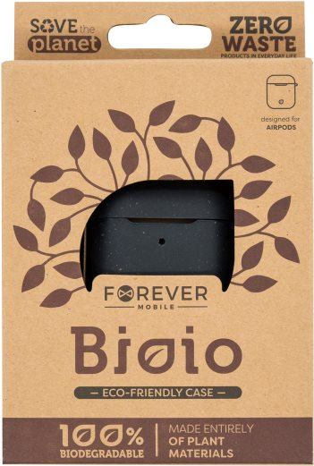 Forever Bioio for AirPods fekete