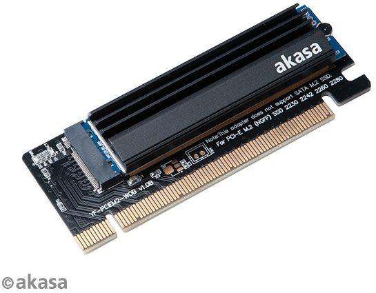 AKASA csökkentés a PCIe x16 nyílásból az M.2 SSD / AK-PCCM2P-05-be