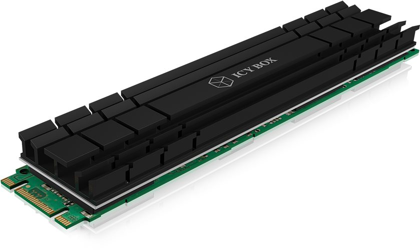 ICY BOX IB-M2HS-1001 Hűtőborda M.2 SSD-hez