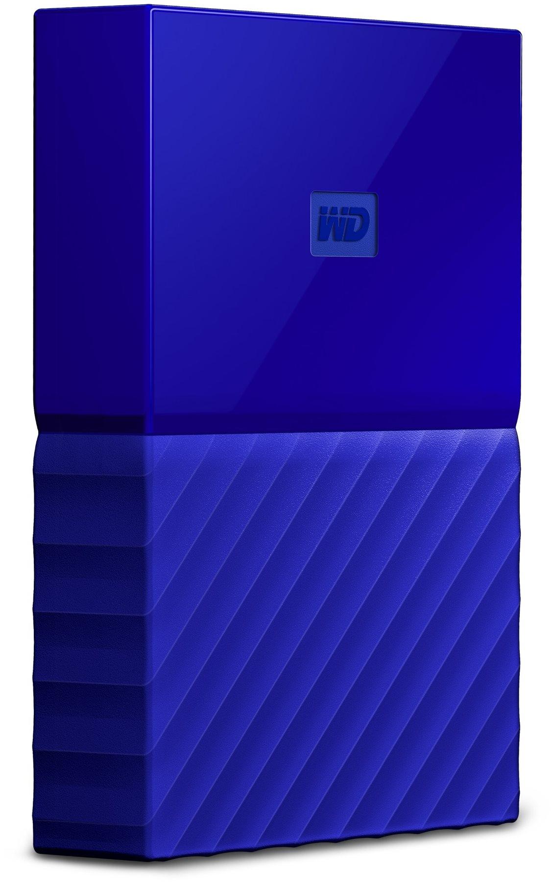 WD My Passport 4TB USB 3.0 - kék
