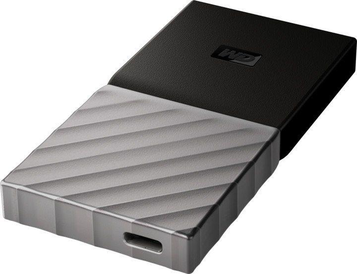 WD My Passport SSD 256GB ezüst-fekete