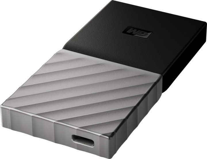 WD My Passport SSD 1TB ezüst-fekete