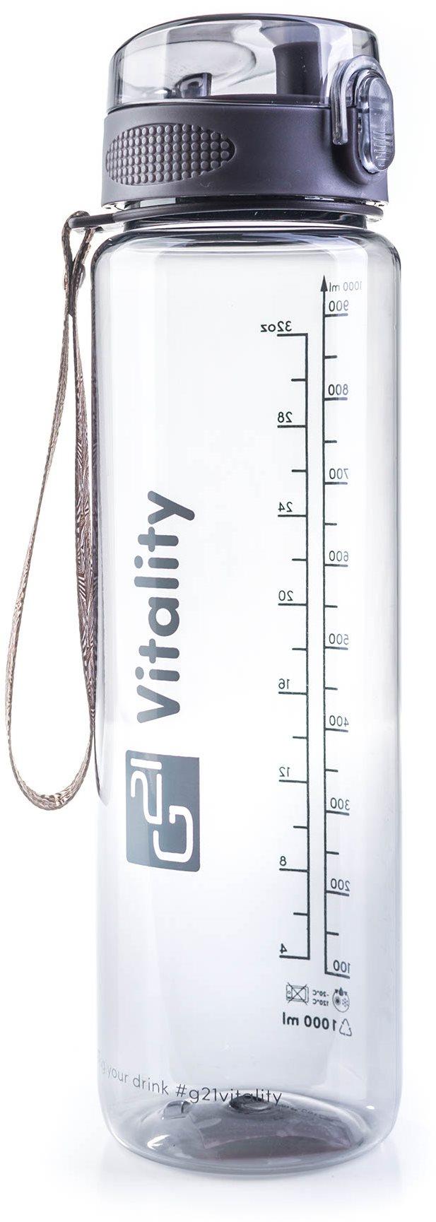 G21 Ivópalack, 1000 ml, szürke