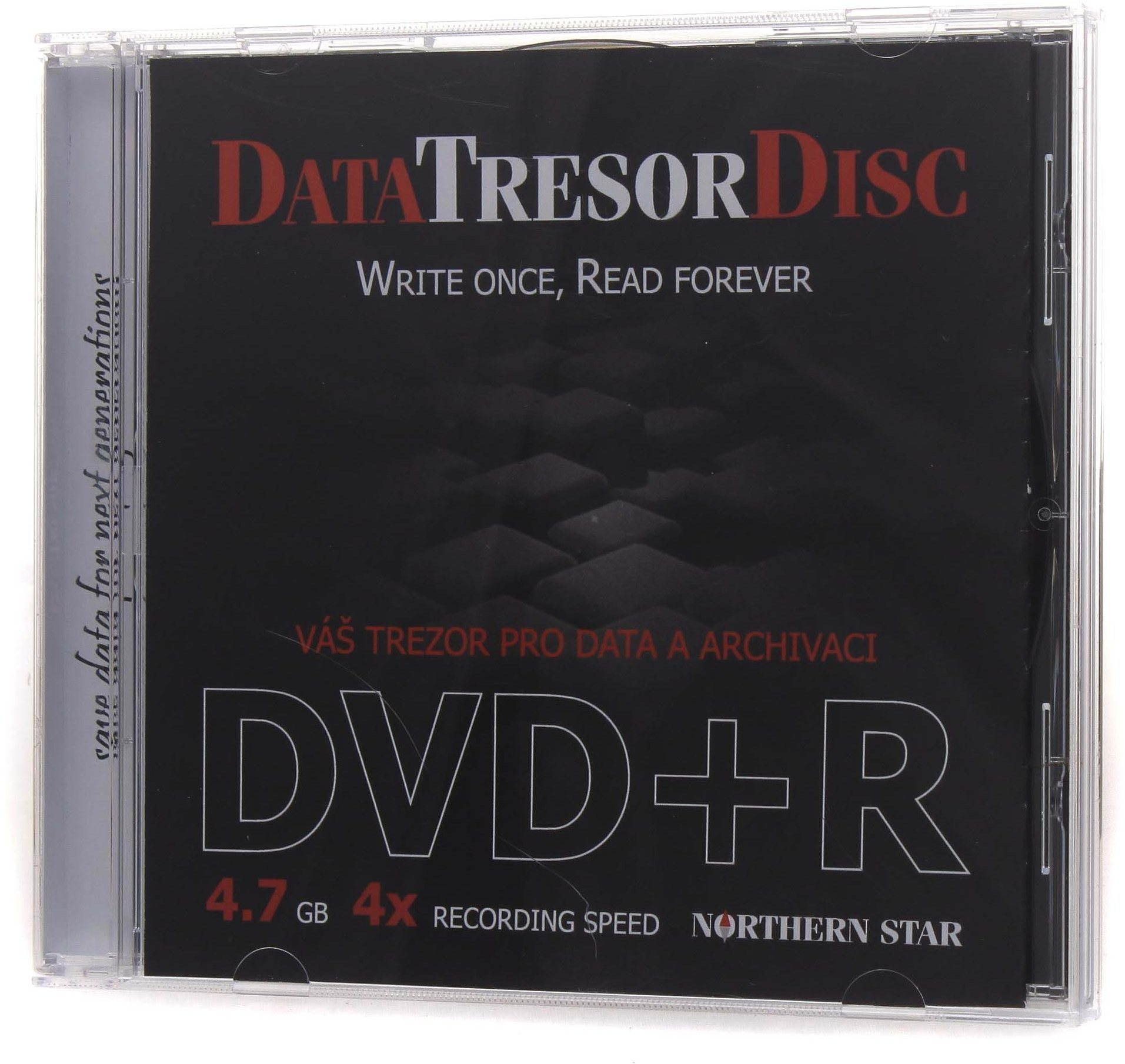 DATA TRESOR DISC DVD+R 1 db dobozban