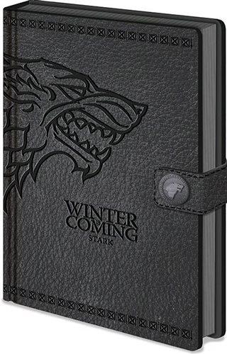 Trónok Harca - Stark - Jegyzetfüzet