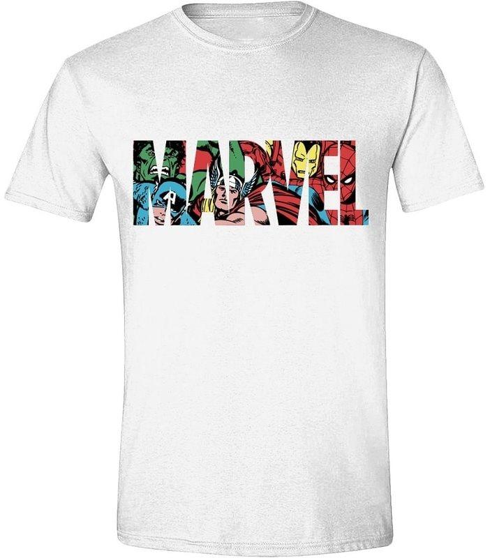 Marvel Characters Logo - póló
