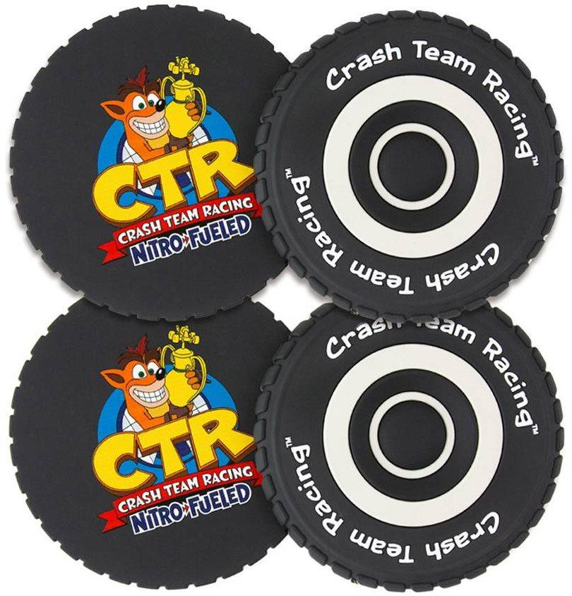 Crash Team Racing Tyre - poháralátét