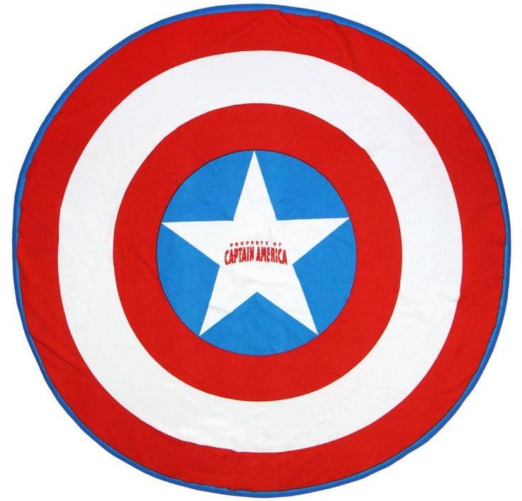 Captain America - Shield - strand törölköző