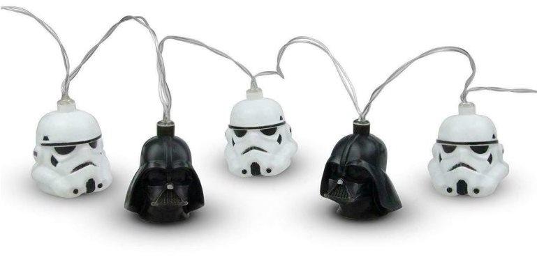 Csillagok háborúja - Darth Vader és Stormtrooper - lámpafülek akasztásra