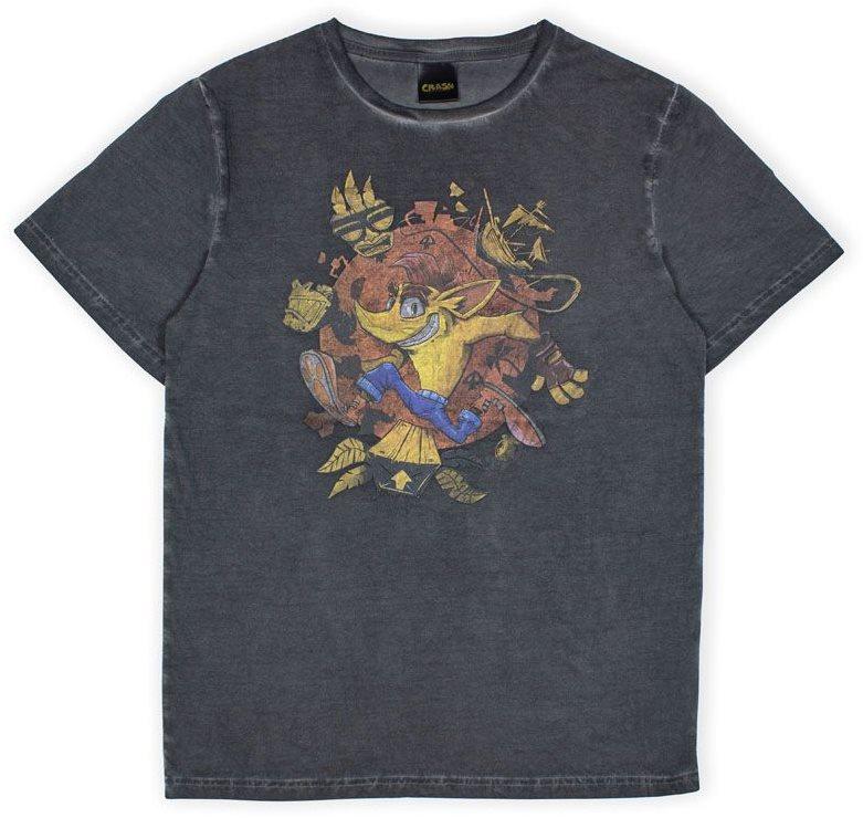 Crash Bandicoot - Oil Wash - póló