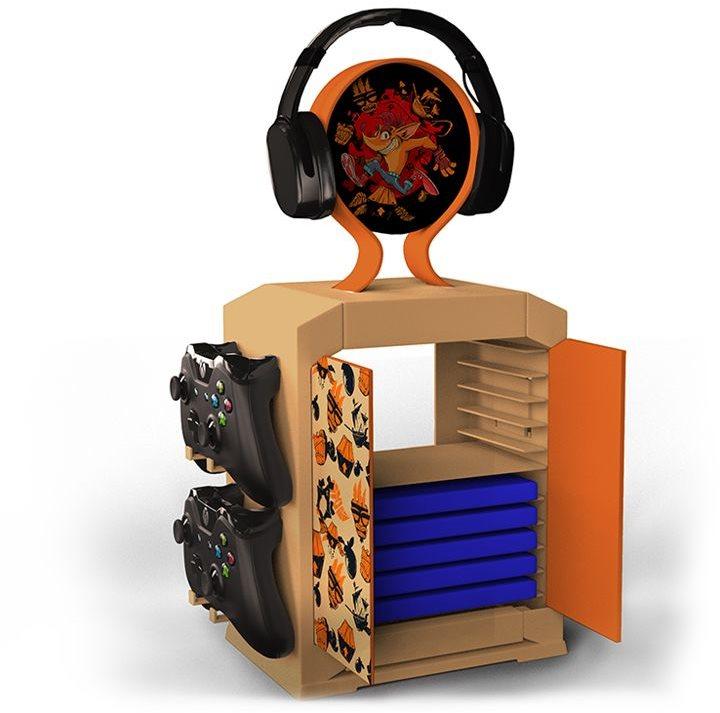 Crash Bandicoot - játék szekrény
