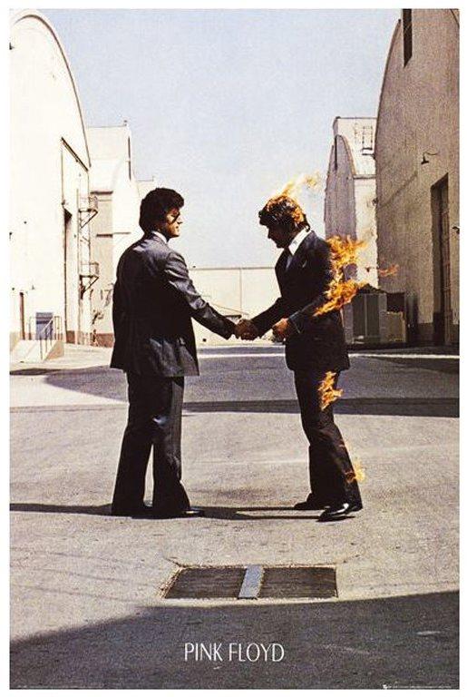 Pink Floyd - Szeretném, ha itt lennél - poszter 65 x 91,5 cm