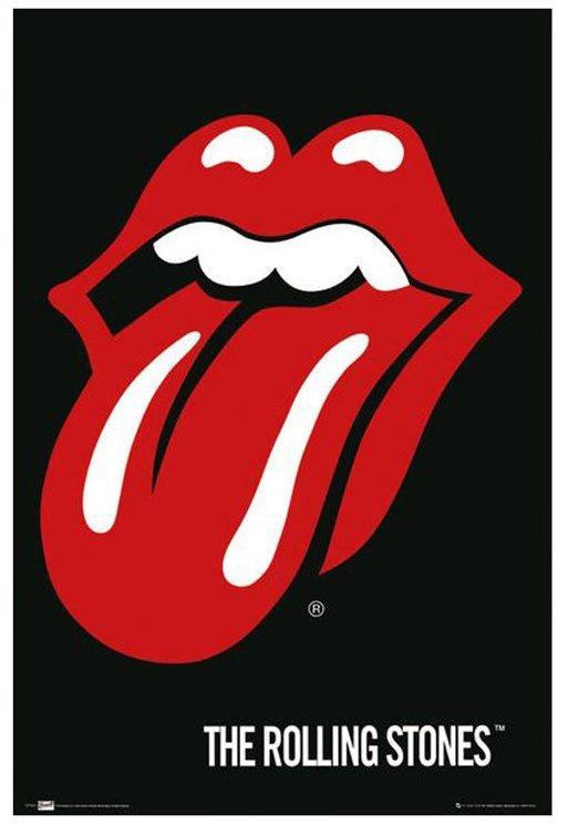 The Rolling Stones - Lips - poszter 65 x 91,5 cm