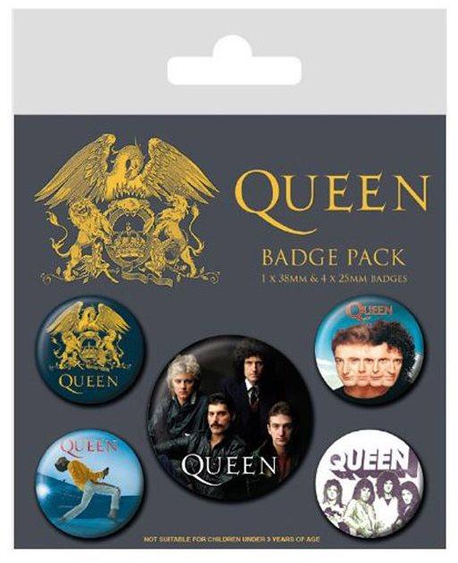 Queen - Classic - jelvények 5db