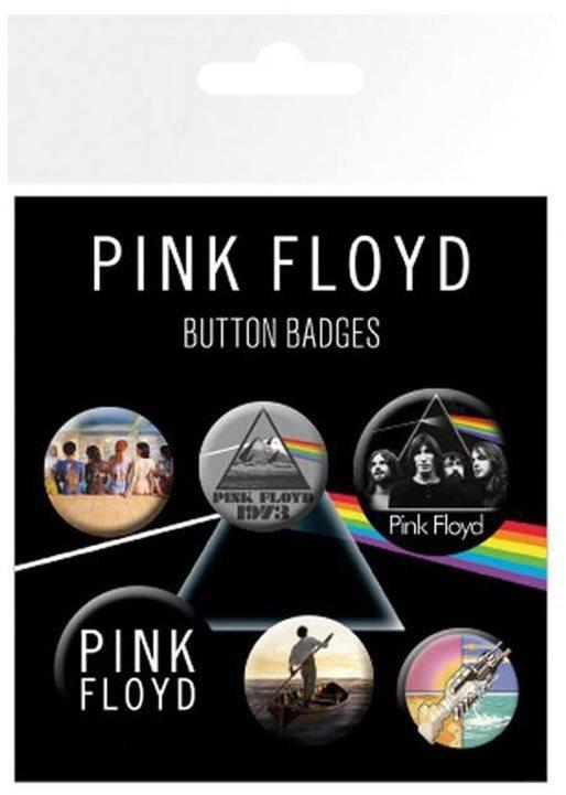 Pink Floyd - Button Kitűzők - jelvények 6 db
