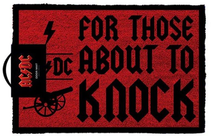 AC/DC - For Those About To Knock - lábtörlő