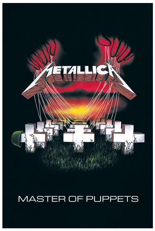 Metallica - Bábok mestere - poszter 65 x 91,5 cm