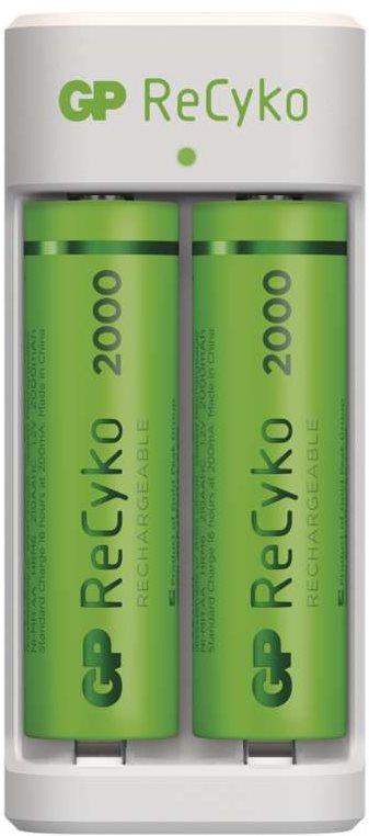 GP Eco E211 + 2× AA ReCyko 2000