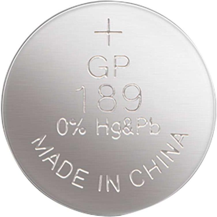 GP LR54 alkáli gombelem (189F) 1,5V