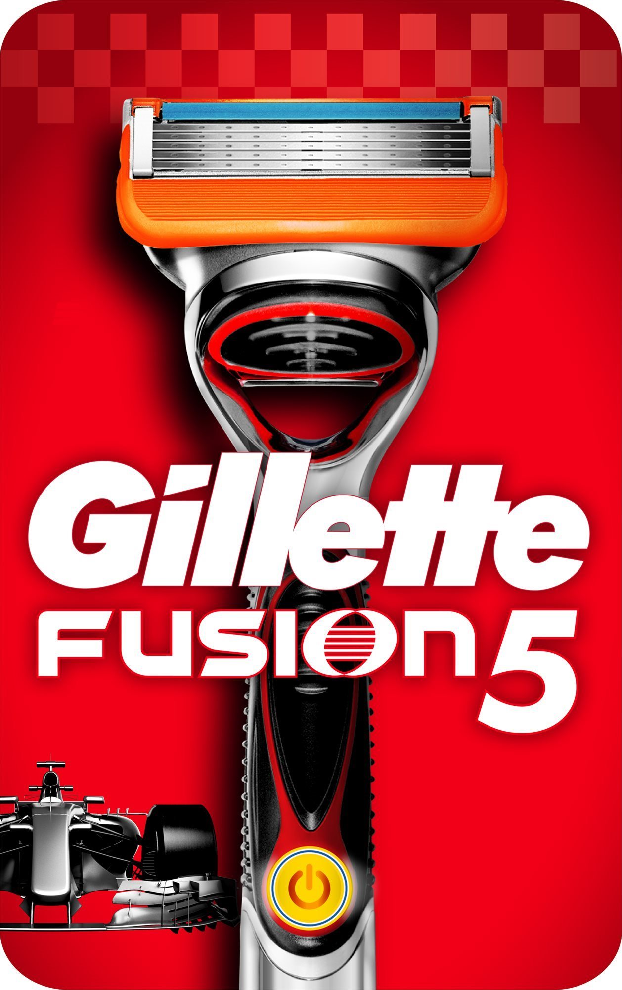 GILLETTE Fusion Power borotva fej + 1 db